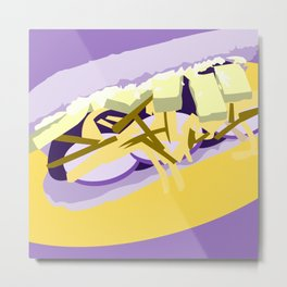 Abstract Submarine Metal Print