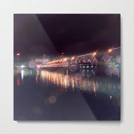 City Island Bridge Metal Print