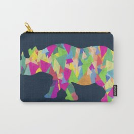 Abstract Rhino Carry-All Pouch
