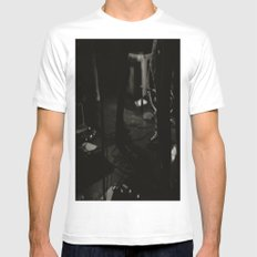 The Band  White MEDIUM Mens Fitted Tee