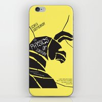 physics iPhone & iPod Skins featuring The Physics of Sorrow by Open Letter Books