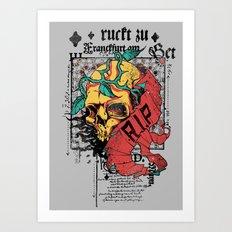 Zu Frankfurt Art Print