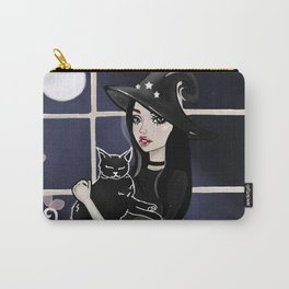 The Witch and Her Cat Carry-All Pouch