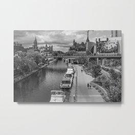 Rideau Canal Metal Print