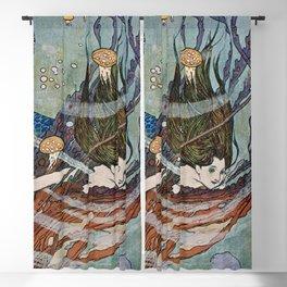 """The Little Mermaid"" by Edmund Dulac Blackout Curtain"
