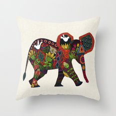 little elephant Throw Pillow