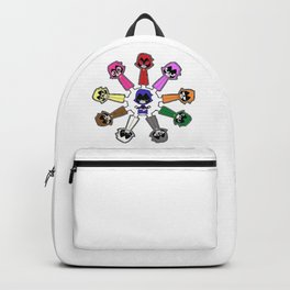Raven Emoticlones Backpack