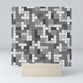 Tetris Camouflage Urban Mini Art Print