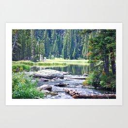 Rocky Mountain Calm Art Print