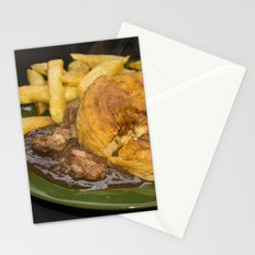 I want pie & i want some chips  Stationery Cards