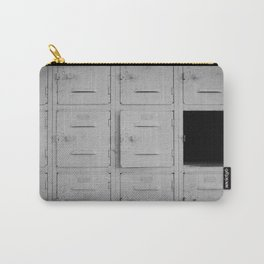 Vintage Gym Lockers Carry-All Pouch