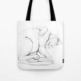 Cat II   /  Chat II   /  Gato II Tote Bag