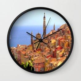 Menton Hues Wall Clock