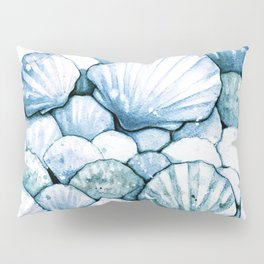 Sea Shells Teal Pillow Sham