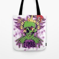 dramatical murder Tote Bags featuring Murder by Tshirt-Factory