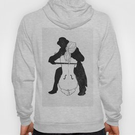 Violin for love. Hoody