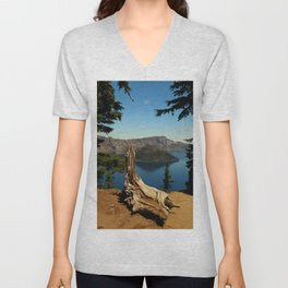 Carter Lake Serenity Unisex V-Neck