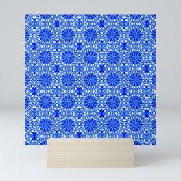 Sapphire Blue Star Mini Art Print