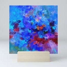 Abstract Seascape Painting Mini Art Print