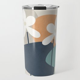 Abstract Flowers 3 Travel Mug