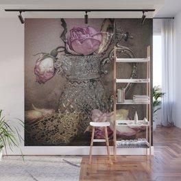 Petals and Lace Wall Mural