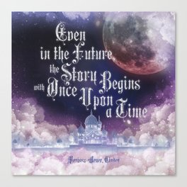Cinder - Once Upon a Time Canvas Print