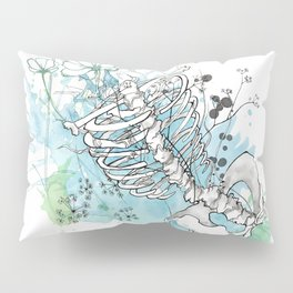 Ribcage in Colour Pillow Sham