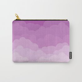 Lilac Gradient Clouds Carry-All Pouch