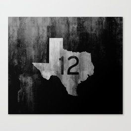 Texas Ranch Road 12 Canvas Print
