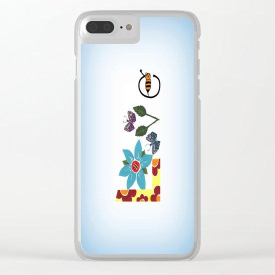 Nature Love Clear iPhone Case