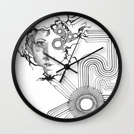 Controlled By The Machine Wall Clock