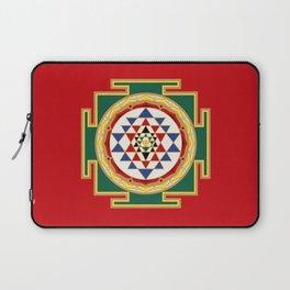 Sri Yantra colored Laptop Sleeve