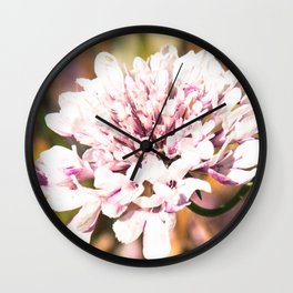 Floral trend Wall Clock