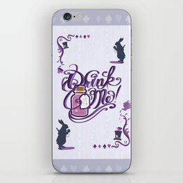 Alice In Wonderland Drink Me iPhone Skin