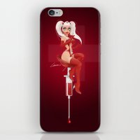 nurse iPhone & iPod Skins featuring Nurse Candy by irmino/Pin-oops !