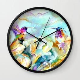 Dawn Greeting Wall Clock