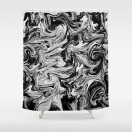 Grey JL Shower Curtain