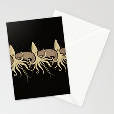 THE WHALE AND THE SQUID Stationery Cards