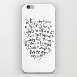 Be Thou My Vision iPhone Skin