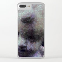 Angel Fire Clear iPhone Case