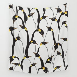 Penguin Patch Wall Tapestry