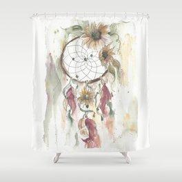 Dream Catcher In Earthy Tones Shower Curtain