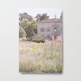 Merian Park in the Spring Metal Print