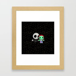 Halloween Babies | Jack | Sally | Christmas | Nightmare Framed Art Print