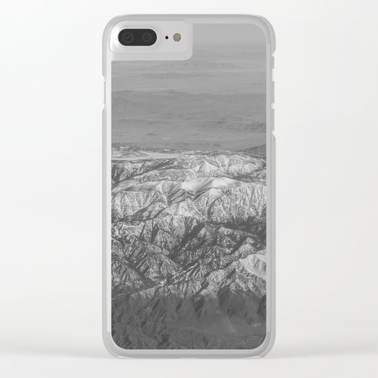 The Great Rockies Clear iPhone Case