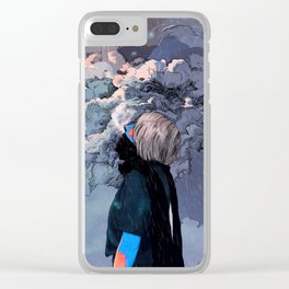 It Was Christmas Day Clear iPhone Case