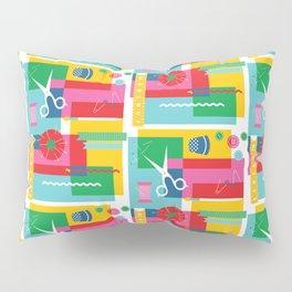 Craft Collage Pillow Sham