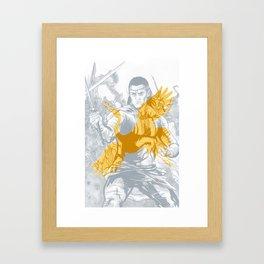 Lan Mandragoran: Last Battle Series Framed Art Print