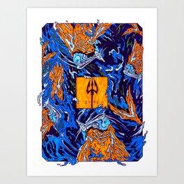 Turn the Sea Art Print