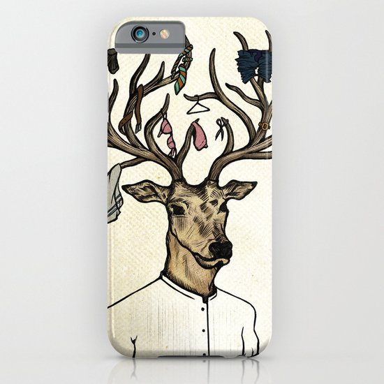Evicted deer iPhone & iPod Case
